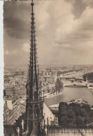 C.P. - PARIS - VUE PANORAMIQUE PRISE DES TOURS DE NOTRE DAME - 114 - IMAGES DE PARIS - YVON - Notre Dame De Paris