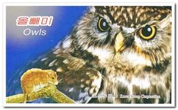 Zuid Korea 2013, Postfris MNH, Birds, Owls ( Booklet ) - Korea (Zuid)