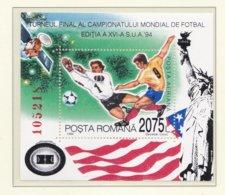 Romania 1994 World Cup Football USA Souvenir Sheet MNH/** (H47) - World Cup
