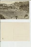 Fiesole (Firenze, Dintorni): Anfiteatro Romano. Cart. Fp Inizio '900 (animata) - Firenze