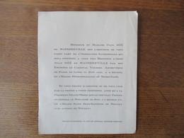 NEUILLY LE 24 JUIN 1935 ORDINATION DE MONSIEUR L'ABBE JEAN DÖE DE MAINDREVILLE PAR LE CARDINAL VERDIER ARCHEVÊQUE DE PAR - Announcements