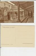 Fiesole (Firenze): Convento Di S. Francesco - Il Piccolo Chiostro. Cartolina Fp Inizio '900 (animata, Frati) - Firenze