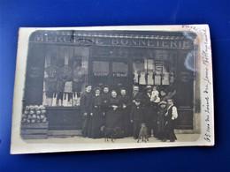 SUPER - Carte-photo - Boutique De Mercerie/bonneterie - Maison P. VENOT  165 Rue Du Point Du Jour BILLANCOURT - En 1906 - Boulogne Billancourt