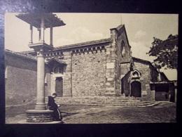 Fiesole (Firenze): Chiesa Di S. Francesco. Cart. Fp Inizio '900 (animata, Frate) - Firenze