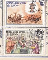 CIPRO 1982 - Francobolli EUROPA - Eventi Storici 1982. - Usati