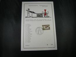 """BELG.1967 1420 FDC Philacard : """" Mémorial/Memoriaal Gentinnes """" - Herdenkingskaarten"""