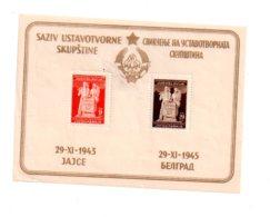 Jugoslavija - Jajce 1943- Feuillet-voir état - Blocs-feuillets