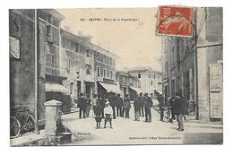 38 Dép.- 382 - Chatte Place De La République. CI, Picoardy - Courtin édit 1 Rue Thiers Grenoble. Carte Postale Ayant Voy - Autres Communes