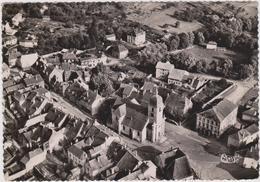CPSM   VILLERSEXEL 70  Vue Aérienne,la Place,la Mairie Et L'église - Autres Communes