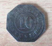 Allemagne / Deutschland - Monnaie De Nécessité 10 Pfennig Rothenburg Ob Der Tauber - Zinc - Non-datée - TTB - Germany