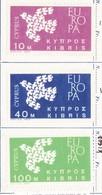CIPRO 1962 - Francobolli EUROPA. - Usati