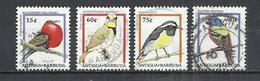 ANTIGUA AND BARBUDA 1995 - BIRDS  - LOT OF 4 DIFFERENT - OBLITERE USED GESTEMPELT USADO - Oiseaux
