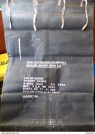 ARMEE AMERICAINE U.S : SAC ETANCHE BAG DELOUSING , 5 AVRIL 1944  ,WWII  PERIODE DEUXIEME GUERRE MONDIALE ,DIMENSION LARG - Equipement