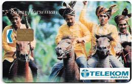 Malaysia - Kadfon - Bajau Horsemen, 5RM, Used - Malaysia
