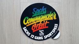 Aufkleber Mit Werbung Für Die SACHS Commander Orbit-Schaltung - Aufkleber
