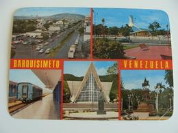 BARQUISIMETO   GARE STAZIONE  TRENO TRAIN   VENEZUELA  -     VIAGGIATA  COME DA FOTO - Venezuela