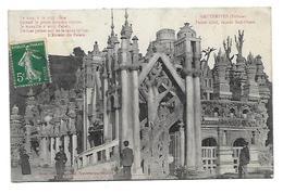 26 Dép.- Hauterives (Drome) Palais Idéal, Façade Sud-Ouest. Cheval Auteur Du Palais (Reproduction Interdite) Carte Posta - Hauterives