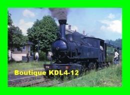 AL 420 - Train - Loco 020+020 T N° 104 En Gare - CHAMBOULIVE  - Corrèze - POC - Other Municipalities