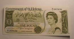 1981 - Sainte Hélène - St. Helena - ONE POUND, Elysabeth II, A/1 387636 - Isla Santa Helena