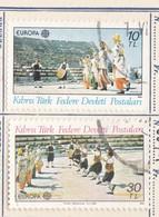 CIPRO TURCA 1981 - EUROPA Stamps - Folklore - Folk Dances 1981 - Cipro (Turchia)