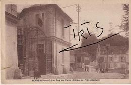 E84 - YERRES - RUE DE PARIS - ENTREE DU PREVENTORIUM - Yerres