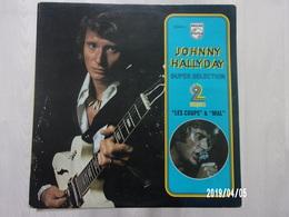 "Johnny Hallyday - Super Sélection 2 Disques ""Les Coups"" & ""Mal"" - Rock"
