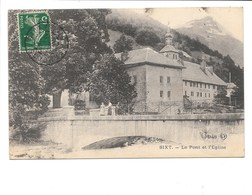 SIXT. - L'Église L'ancienne Abbaye Et La Mairie. - Sixt-Fer-à-Cheval