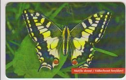 #05 - BUTTERFLY-04 - SET OF 3 CARDS - SLOVAKIA - Albania