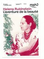 CPM Paris Musée D'art Et D' Histoire Du Judaîsme - Helena Rubinstein L'aventure De La Beauté Mode Parfum - Moda