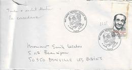 TP N° 2298 Seul Sur Enveloppe 1er Jour De Paris - Marcophilie (Lettres)