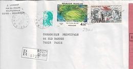TP N° 2300 Et PA 48 Sur Enveloppe En Recommandé De Roucy - Postmark Collection (Covers)