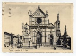 Firenze - Basilica Di Santa Croce - Viaggiata Nel 1939 - (FDC14894) - Firenze