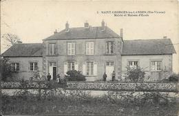 SAINT GEORGES LES LANDES Mairie Et Maison D' école - France