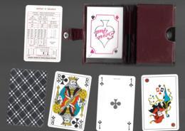 COFFRET 54 CARTES A JOUER Champagne Michel PIENNE MONTHELON PLAYING CARDS BRIDGE Avec Son Stylo Et Son Bloc Notes  12 - 54 Cards