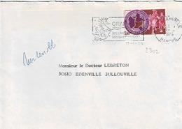 TP N° 2302 Seul Sur Enveloppe De Granville - 1961-....