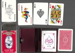 COFFRET 54 CARTES A JOUER Champagne Michel PIENNE MONTHELON PLAYING CARDS Voilier Avec Son Stylo Et Son Bloc Notes  12 - 54 Cards