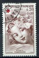 France, Red Cross, Fragonard, 20c. + 10c. , 1962, VFU - Francia