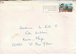 TP N° 2307 Seul Sur  Enveloppe De Montargis - Marcophilie (Lettres)