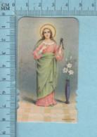 Die Cut,  NB K./6290 - Sainte Apoline Patronne Des Dentistes -Images Pieuses, Holy Card, Santini - Images Religieuses