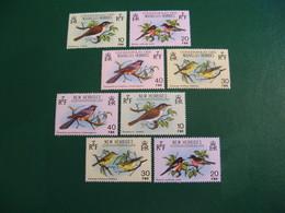 NOUVELLES HEBRIDES POSTE ORDINAIRE N° 575/578 + 579/582 TIMBRES NEUFS** COTE 16,00 EUROS - Unused Stamps