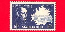 Nuovo - MH - MARTINICA - 1945 - Victor Schoelcher (1804-1893) - 10 - Martinica (1886-1947)