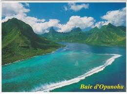 1542 VUE AERIENNE DE L'ILE DE MOOREA - French Polynesia