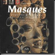 LIVRE >Culture- Marie-Aude Priez (Auteur) Thomas Renaut (Photographies) MASQUES ESPRIT D'AFRIQUE Masks Edition Bilingue - Autres