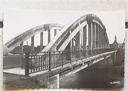 Cpsm 02 LA FERE Le Pont Du Canal - France