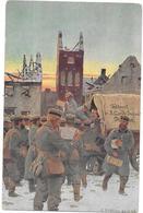 GUERRE  1914   -  ILLUSTRATEUR ROCHLINA 24/12/1914 - Ankunft Von Liebesgaben  - BES3/SAL1 - - Guerre 1914-18