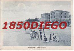 FRANCAVILLA AL MARE - SPIAGGIA  F/GRANDE VIAGGIATA 1936 ANIMAZIONE - Chieti