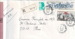 TP N° 2314 Et PA48  Sur  Enveloppe En Recommandé De Port St Pierre - 1961-....