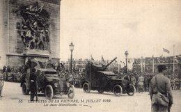 B56655 Les Fêtes De La Victoire 14 Juillet 1919, Les Autos Mitrailleuses - Oorlog 1914-18