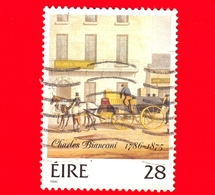 IRLANDA - Usato - 1986 - 200 Anni Di Charles Bianconi 1786-1875 - 28 - 1949-... Repubblica D'Irlanda