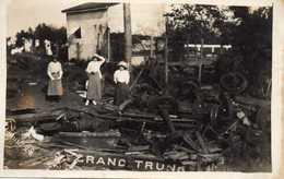 Juin 1929 - Grand Trunk Railway Of Canada -  Déraillement Du Train - CARTE PHOTO - Railway